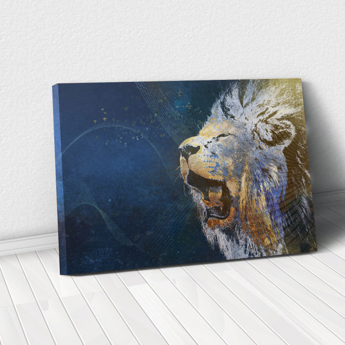Tablou Canvas - Be a Lion 0