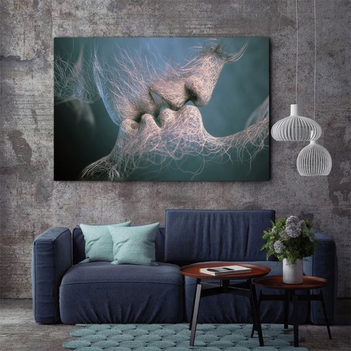 Tablou Canvas - Abstract Kiss 2