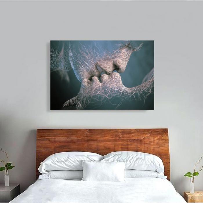 Tablou Canvas - Abstract Kiss 3