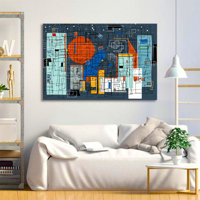 Tablou Canvas - Geometrie Abstracta 1