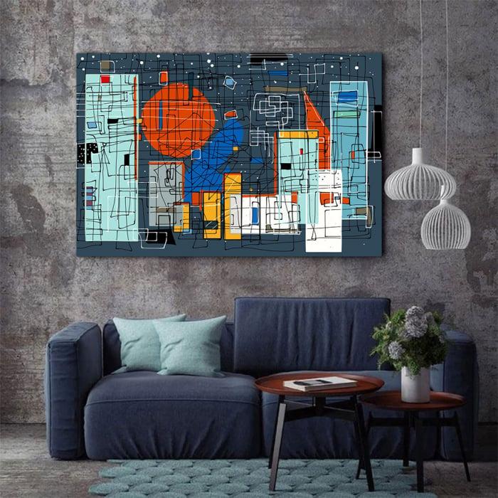 Tablou Canvas - Geometrie Abstracta 2