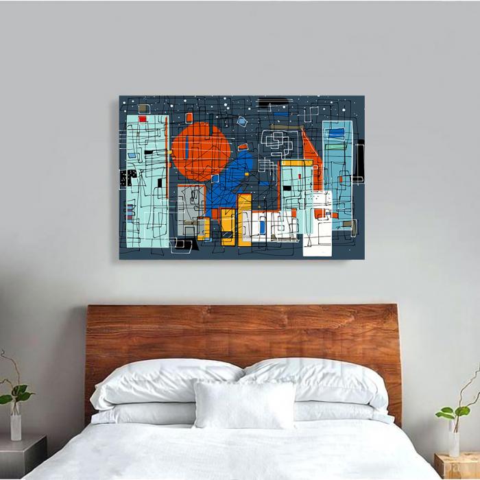 Tablou Canvas - Geometrie Abstracta 3