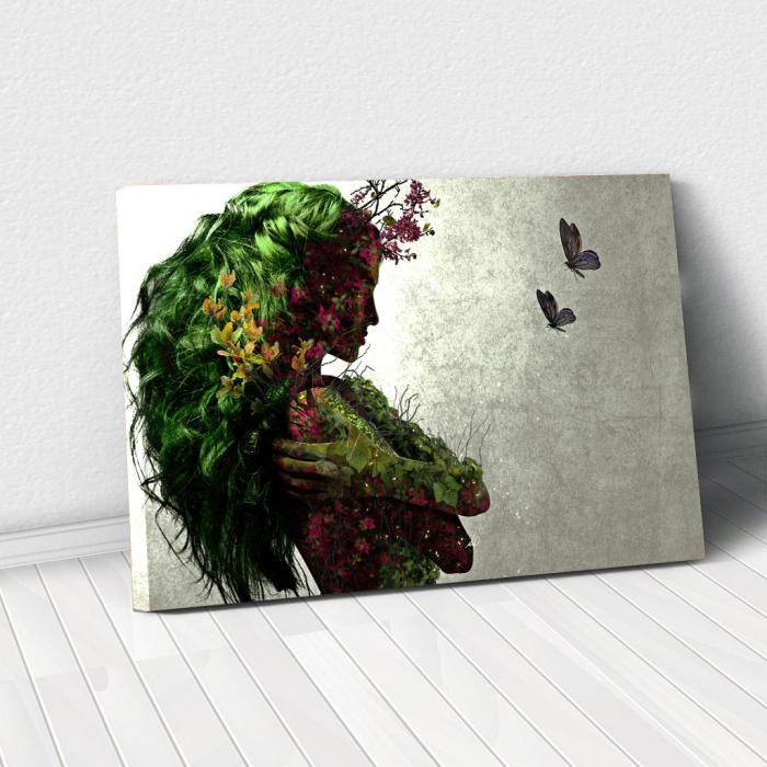 Tablou Canvas - Spring Girl 0