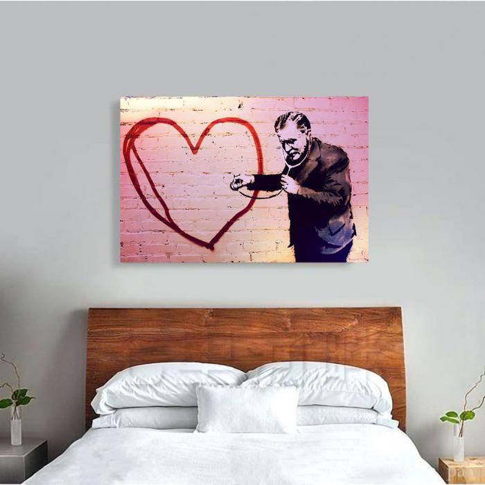 Tablou Canvas - Grafity Art 1