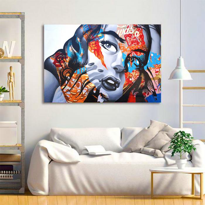 Tablou Canvas - Arta grafica 3