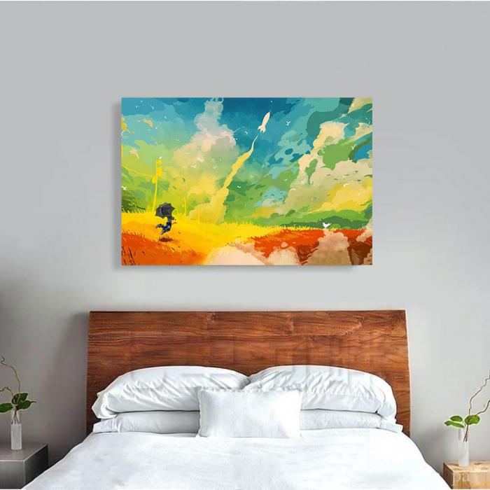 Tablou Canvas - Nori multicolor 1