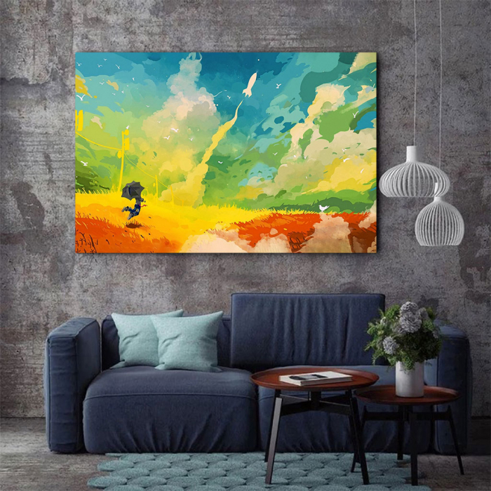 Tablou Canvas - Nori multicolor 2