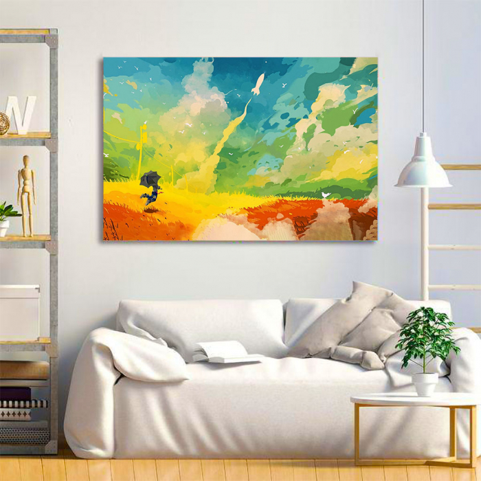 Tablou Canvas - Nori multicolor 3