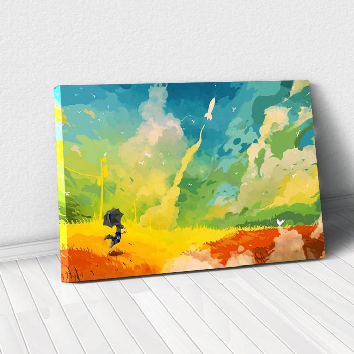Tablou Canvas - Nori multicolor 0