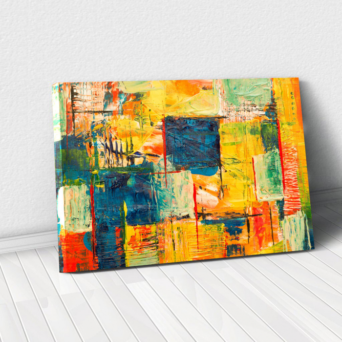 Tablou Canvas - Abstract Paint 0