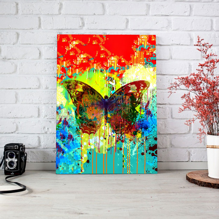 Tablou Canvas - Butterfly effect 1