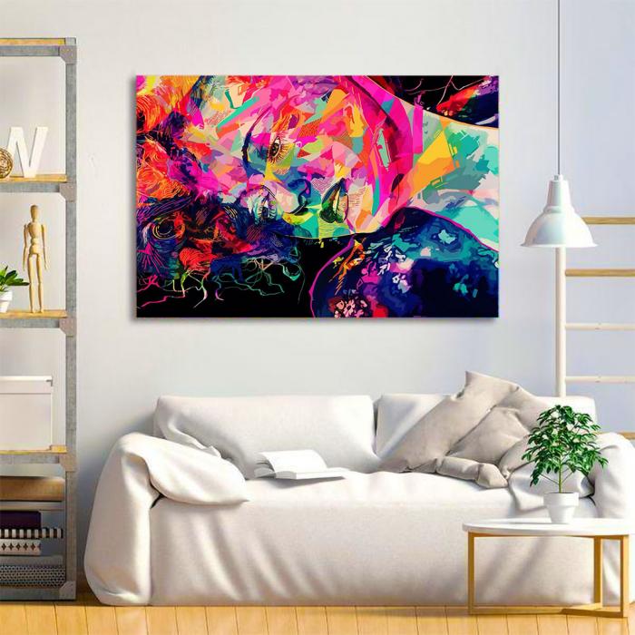 Tablou Canvas - Multicolor art 1