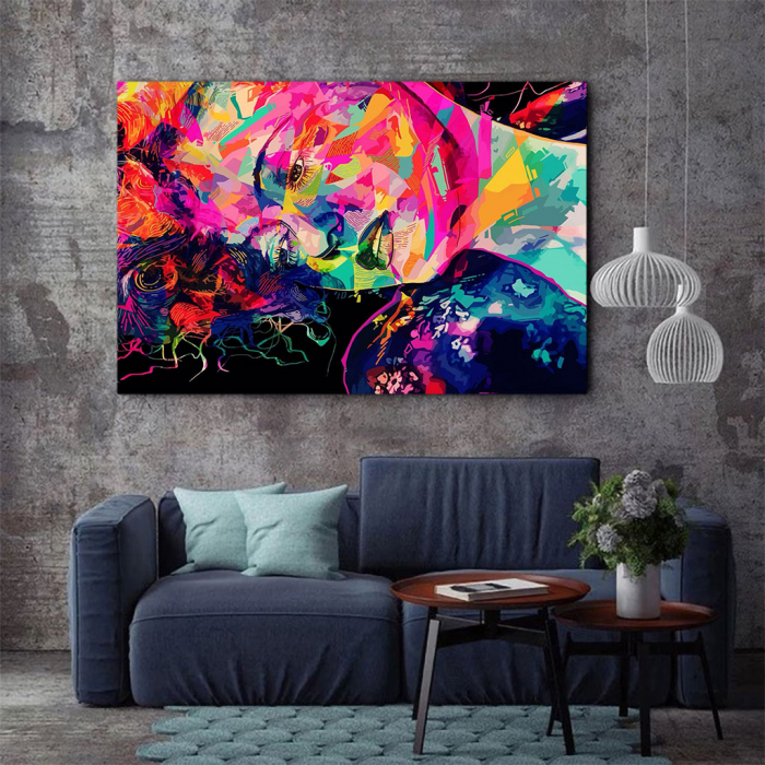 Tablou Canvas - Multicolor art 2