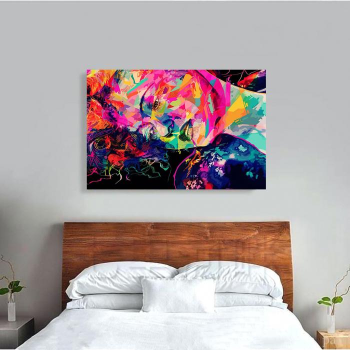 Tablou Canvas - Multicolor art 3