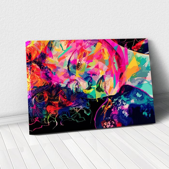 Tablou Canvas - Multicolor art 0