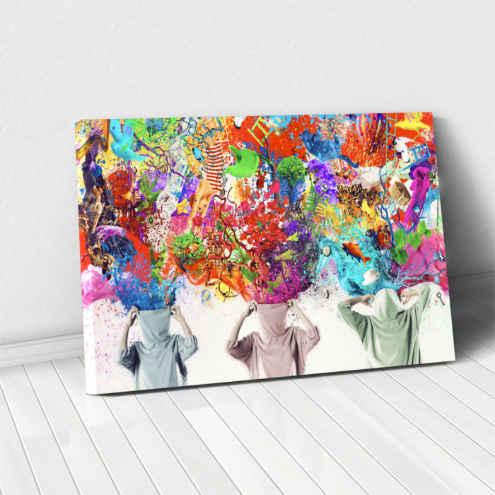 Tablou Canvas - Ideas Release [0]