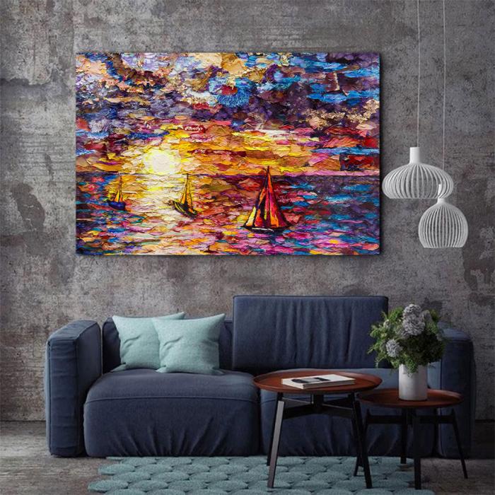 Tablou Canvas - Petals art 2