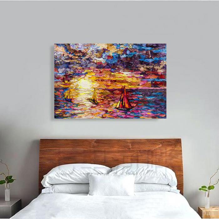 Tablou Canvas - Petals art 3