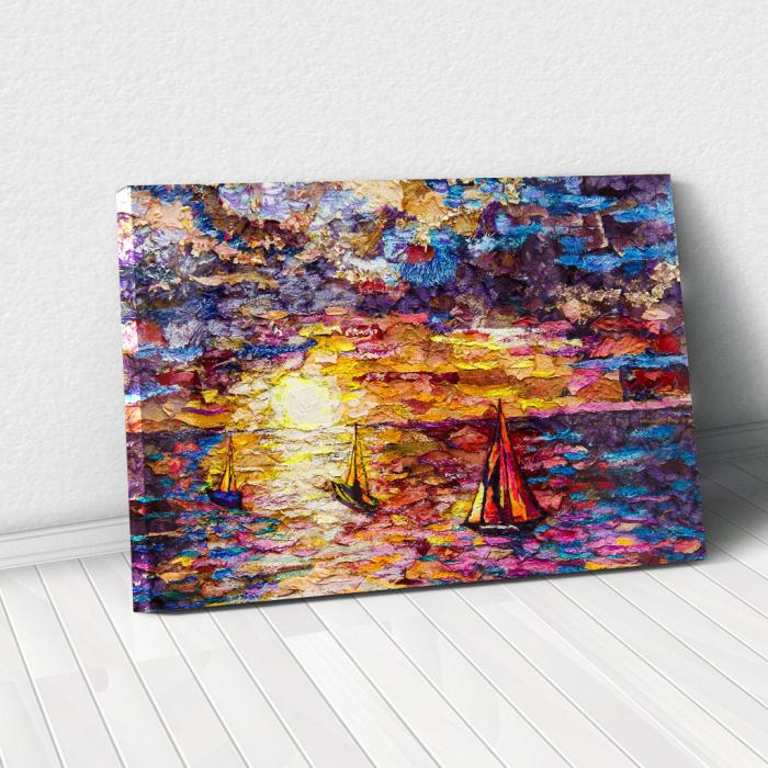 Tablou Canvas - Petals art 0