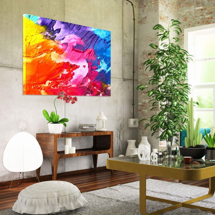 Tablou Canvas - Paleta abstracta [1]