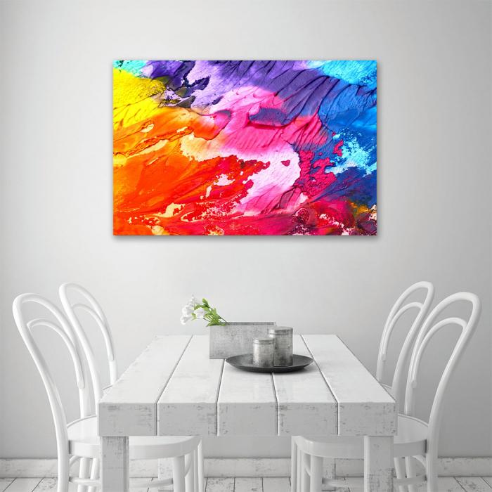 Tablou Canvas - Paleta abstracta [3]