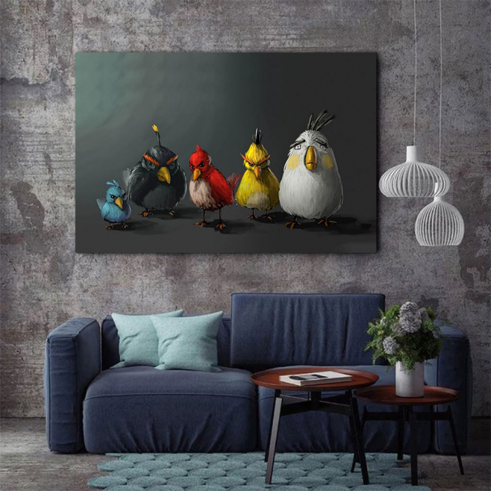 Tablou Canvas - Angry birds 2