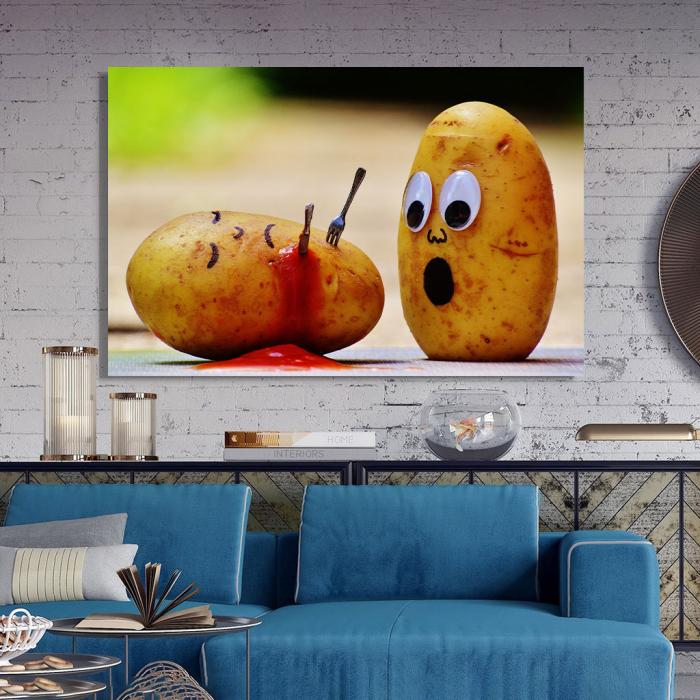 Tablou Canvas - Potatoes 2
