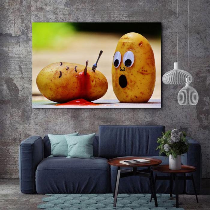 Tablou Canvas - Potatoes 3