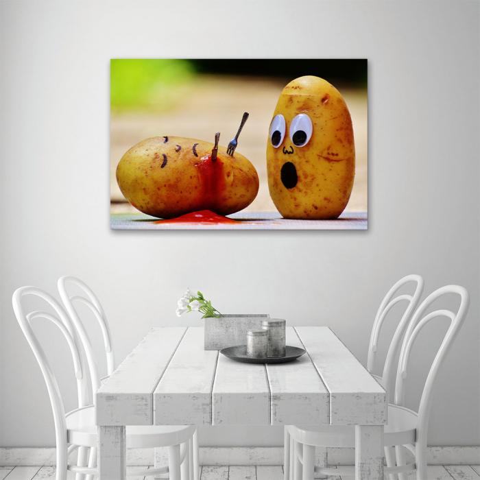 Tablou Canvas - Potatoes 4