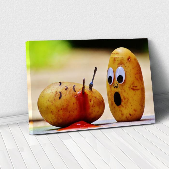Tablou Canvas - Potatoes 0