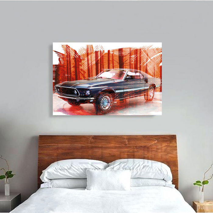 Tablou Canvas - Mustang 1