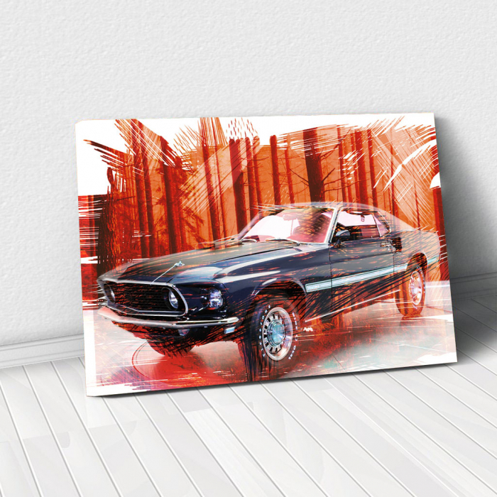 Tablou Canvas - Mustang 0