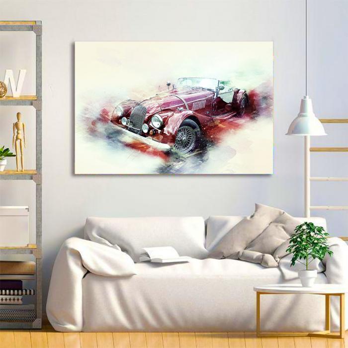 Tablou Canvas - Austin Car [3]
