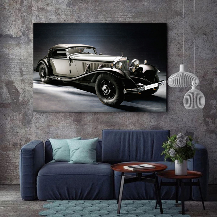 Tablou Canvas - Mercedes Benz 500k(1935) 2