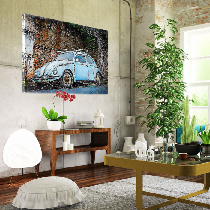 Tablou Canvas - Vw beetle 1