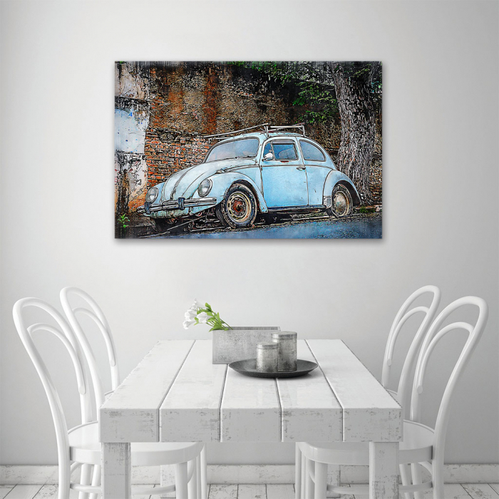 Tablou Canvas - Vw beetle 3