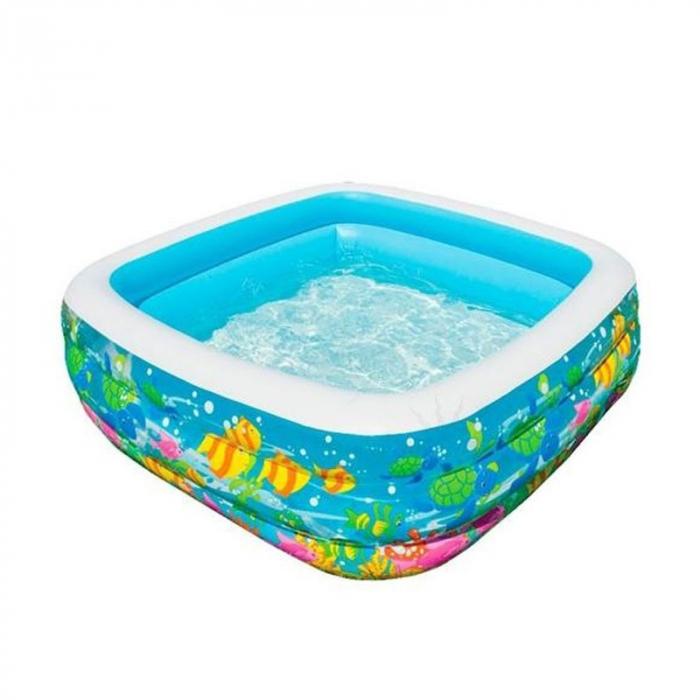 Piscină gonflabilă Aqua,pentru copii 159 x 159 x 50cm 0