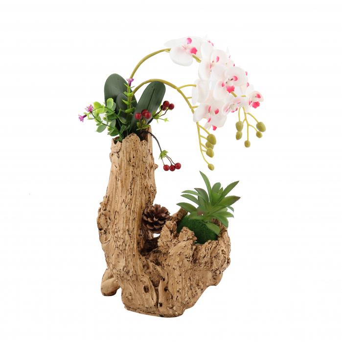 Aranjament flori artificiale, H 44 cm 0