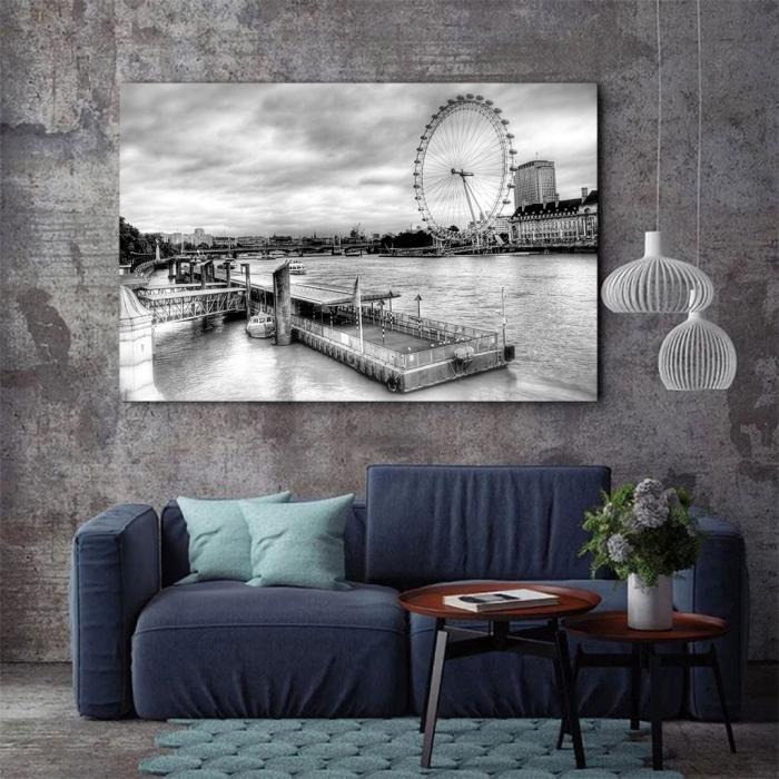 Tablou Canvas - London Eye 2