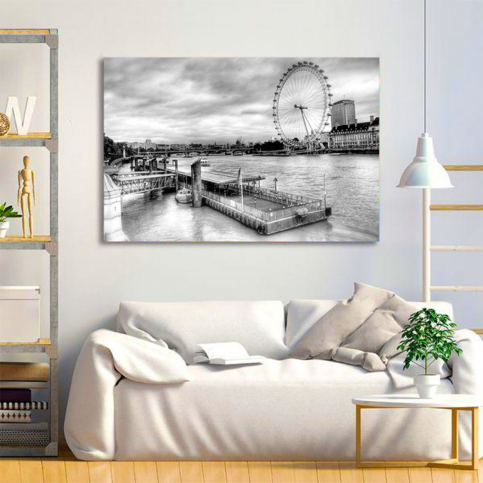 Tablou Canvas - London Eye 3