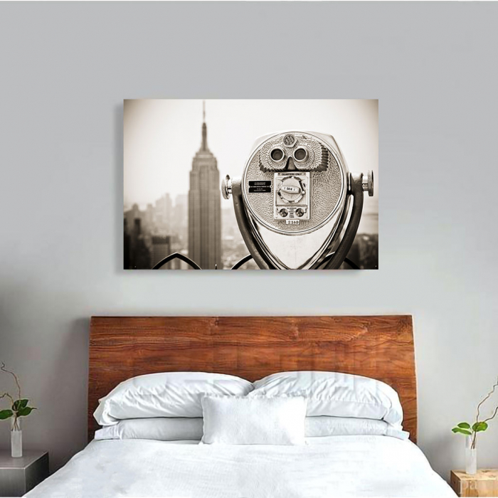 Tablou Canvas - Watch Empire State 1