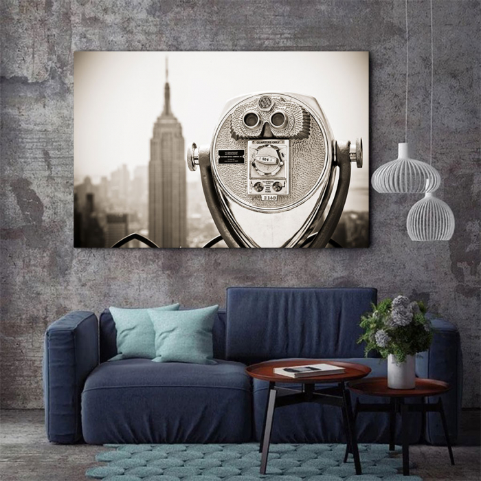 Tablou Canvas - Watch Empire State 2