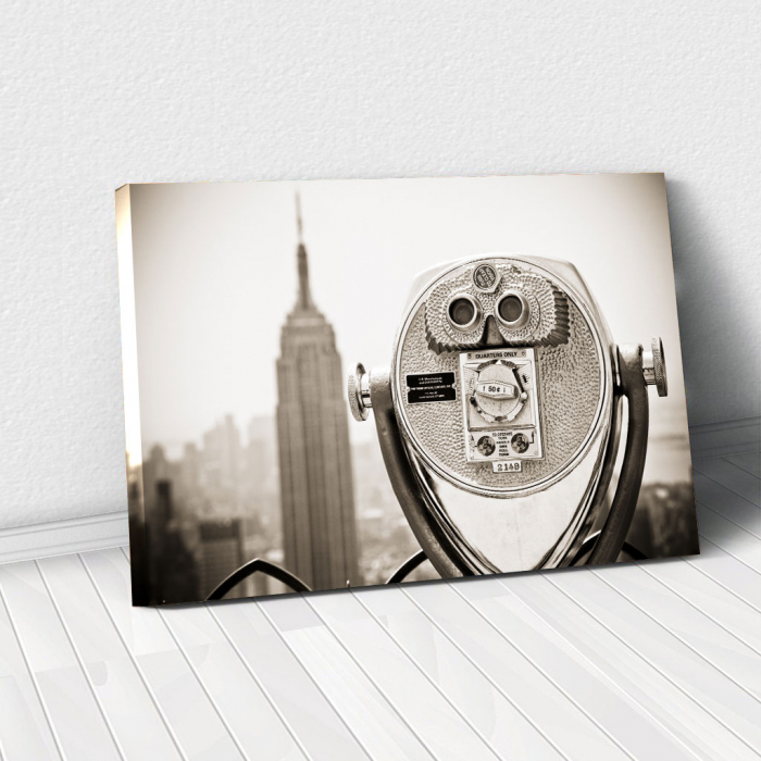 Tablou Canvas - Watch Empire State 0