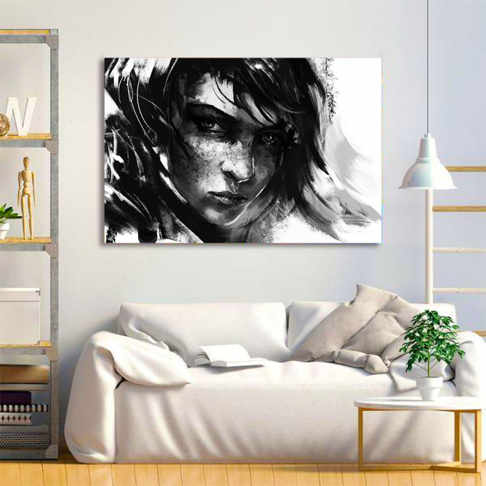 Tablou Canvas - Black mood 1