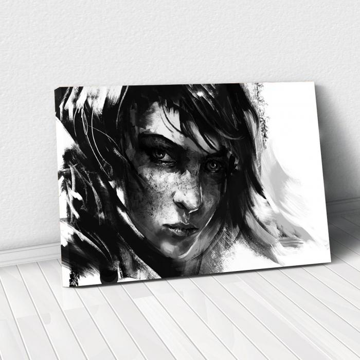 Tablou Canvas - Black mood 0