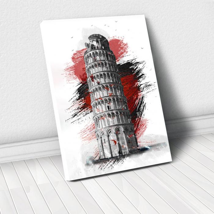 Tablou Canvas - Turnul din pisa 0