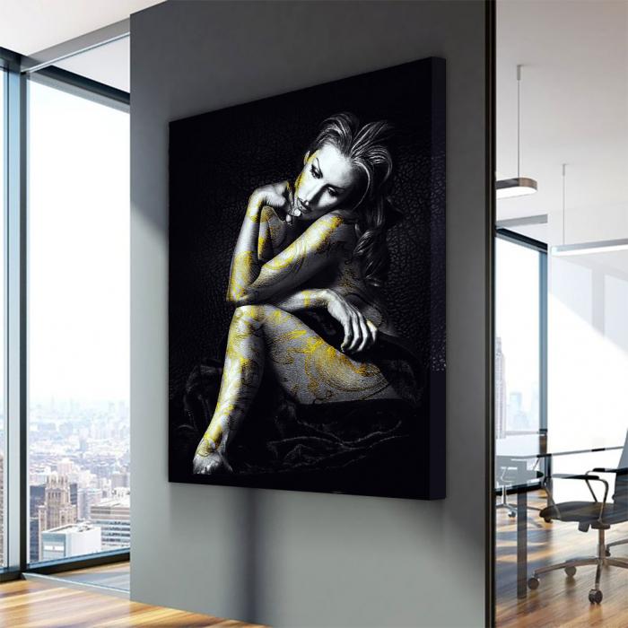 Tablou Canvas - Golden beauty [3]