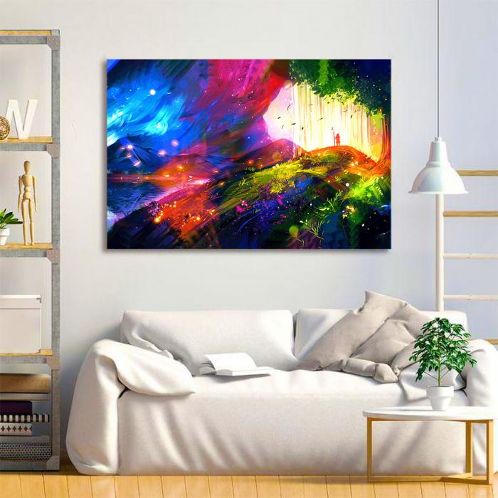 Tablou Canvas - Landscape creativ 1