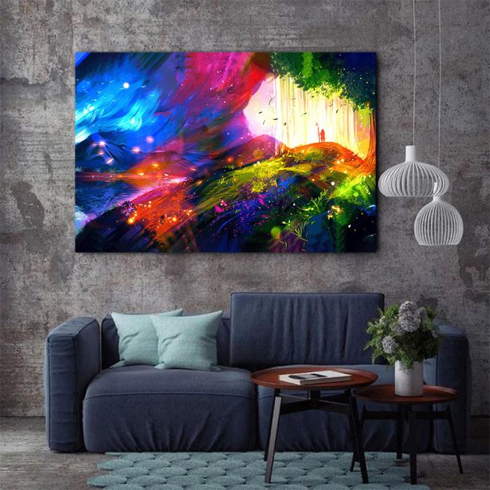 Tablou Canvas - Landscape creativ 2