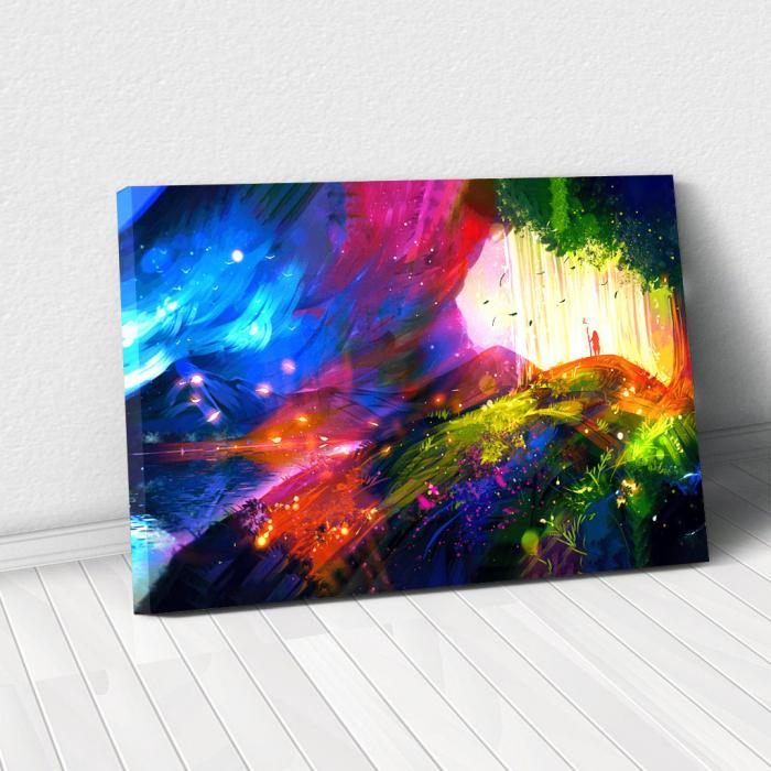 Tablou Canvas - Landscape creativ 0